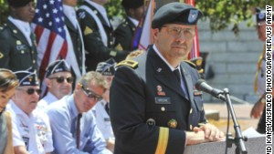 Greene ends command at Natick Soldier Systems Center in 2011.\ width=