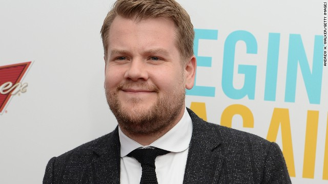 British actor and comedian James Corden is the new face of