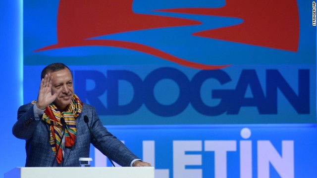 Erdogan addresses nomadic Turkish groups in Ankara on Wednesday, August 6.