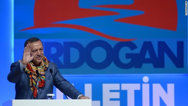 Tayyip Erdogan, primer ministro de Turquía, gana la Presidencia de ese país