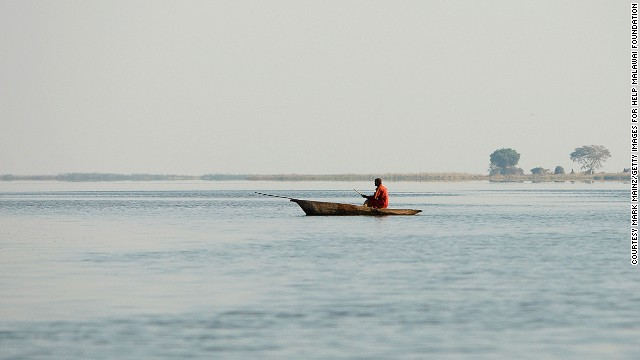 Though Malawi is landlocked, its namesake lake makes up more than three-quarters of the country's eastern border. At nearly 30,000 kilometers, Lake Malawi is the third largest lake in Africa, and the ninth biggest in the world.