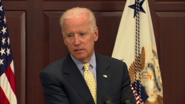 Biden: No 'Ice Bucket Challenge'