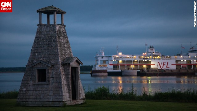Today is National Lighthouse Day. This <a href='http://ireport.cnn.com/docs/DOC-1157204'>miniature lighthouse</a> located on Prince Edward Island near Nova Scotia, Canada, once helped guide seamen in the dark of night. <!-- --> </br><!-- --> </br><strong><a href='http://www.cnn.com/2014/08/07/travel/lighthouse-facts-irpt/'>See more gorgeous lighthouses here.</a></strong>