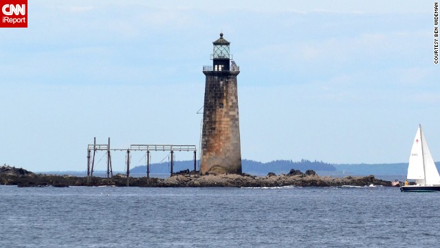 "<a href='http://ireport.cnn.com/docs/DOC-1159211'>Ben Wideman</a> considers Maine's Ram Island Ledge Light the ""redheaded stepchild"" compared to the more popular Portland Head Light across the water. ""So I turned my camera in the opposite direction that other people were pointing theirs. Just the fact it was different than the other, more popular lighthouse made it more memorable."""