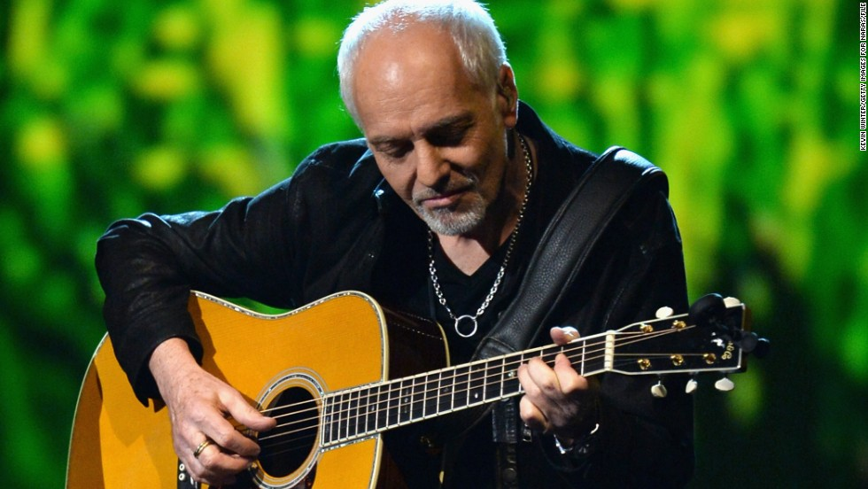 "When Peter Frampton, pictured here in January, tells you to stop videotaping during a show, you should do what you're told. One fan in the front row at Frampton's August 3, 2014, show in Carmel, Indiana, learned this the hard way. After the fan refused to stop taping the show, <a href='http://ke9v.wordpress.com/2014/08/04/frampton-comes-alive-again/' target='_blank'>Frampton took his device</a> and threw it offstage. It looks like the audience supported Frampton's decision: <a href='https://www.facebook.com/PeterFrampton' target='_blank'>He posted a thank you on Facebook</a> to the ""eyewitnesses who came forward to explain how annoying 'Team Distraction' actually were."" Frampton's not the only celebrity who's had some stage drama -- which sometimes even results in a walk-off:"