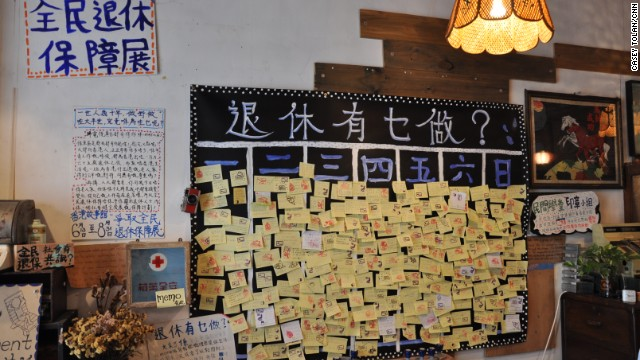 A collaborative exhibit at the Hong Kong House of Stories lets locals share what they want to do after they retire.