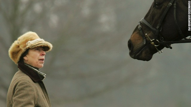 Princess Anne is a great supporter of British equestrianism. Her 200-acre country residence, Gatcombe Park, regularly hosts eventing competitions.