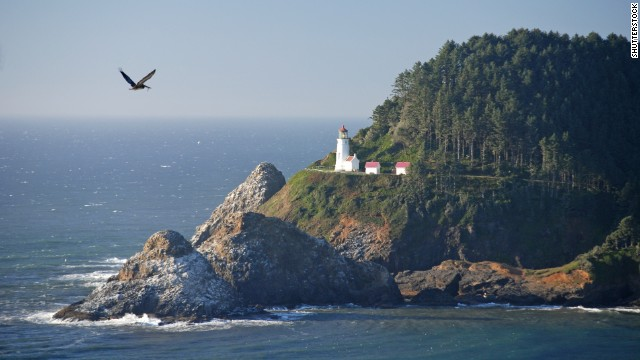 About 12 miles north of town, the recently renovated Heceta Head Lighthouse offers postcard-worthy views.