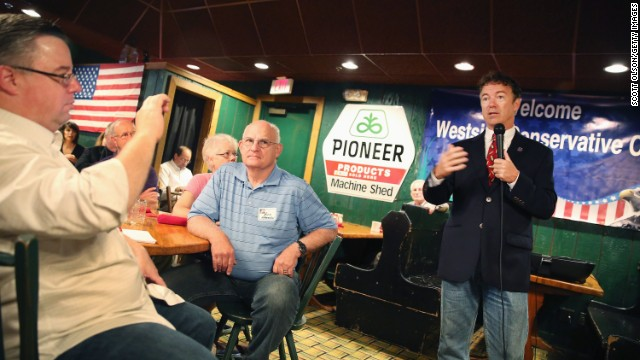 In Iowa, Rand Paul previews 2016 campaign message amid dust-ups