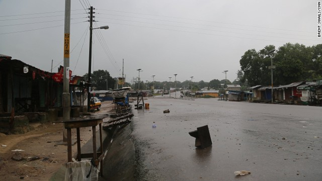 Earlier this week, the Sierra Leone government ordered the entire country to shut down for a day of prayer and reflection and for people to take stock of the unprecedented Ebola outbreak. Towns were completely abandoned and busy markets shuttered.