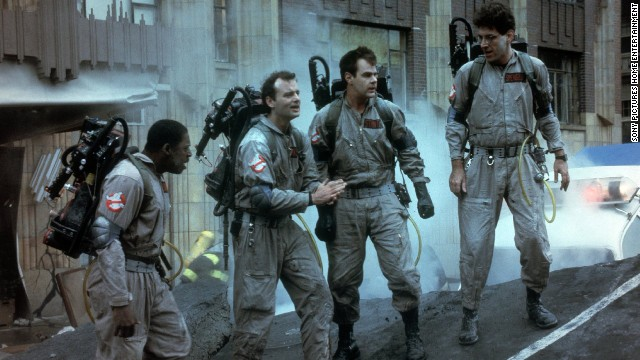 "Who ya gonna call? The ""Ghostbusters"" squad if you want a hit on your hands. The tale of a ragtag bunch of supernatural exterminators -- Ernie Hudson, Bill Murray, Dan Aykroyd and Harold Ramis -- shot to the top of the box office."