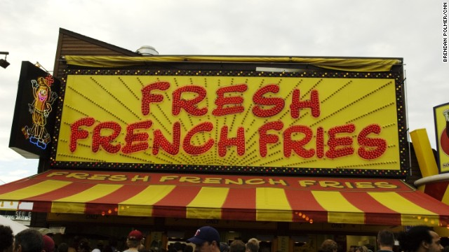 French fries seem almost tame in these batter-coated, cheese-soaked surroundings.
