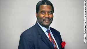 Raymond Burse, interim president of Kentucky State University