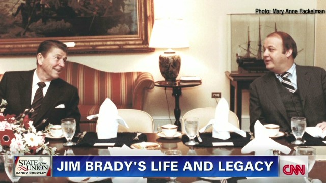 Sotu Behind Scenes >> Jim Brady life and legacy – State of the Union - CNN.com Blogs