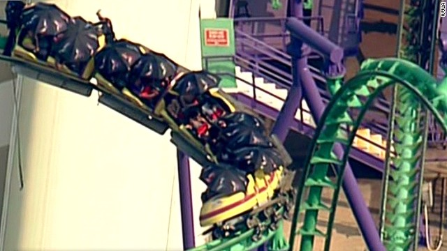 Rescuers Pull Stranded Passengers From Six Flags Roller Coaster