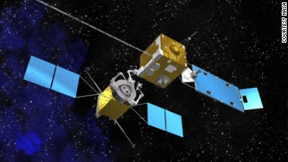 Satellites fighting crime from space