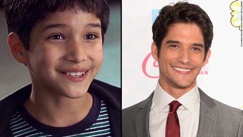 "Tyler Posey co-hosted the 2014 Teen Choice Awards, reuniting onstage with Jennifer Lopez, who played his mother in the 2002 film ""Maid in Manhattan."" See how these other child stars have grown up:"
