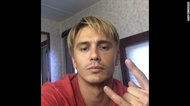 "Don't be mistaken: That really is a blond James Franco. The actor is going for ""that Late 90s bleached look,"" as he explained on <a href='http://instagram.com/p/rj1EEWS9Uc/?modal=true' target='_blank'>Instagram</a>. Could it have anything to do with his work in the <a href='http://variety.com/2014/film/news/zachary-quinto-and-emma-roberts-join-james-francos-michael-exclusive-1201262255/' target='_blank'>2015 drama ""Michael,""</a> about former gay activist <a href='http://instagram.com/p/rhQJdES9b6/?modal=true' target='_blank'>Michael </a>Glatze? We'll know in time. For now, see these other transformations for the big screen:"