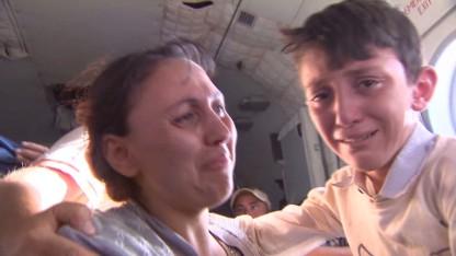 Dramatic rescue as Yazidis flee ISIS