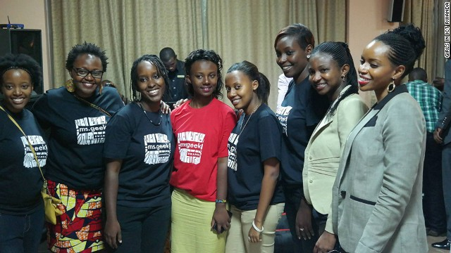 Girls in ICT Rwanda is another group working to change perceptions that the technology sector is just a man's field.