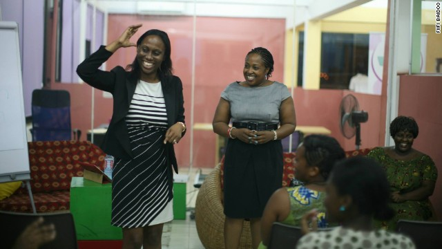 """Women in Tech"" events are increasingly popping up across Africa to help aspiring female technologists enter an industry that's still largely male-dominated."