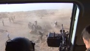 Terrifying moments after Yazidi rescue