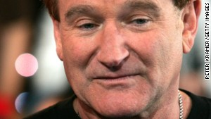 NEW YORK - APRIL 27: (US TABLOIDS OUT) Actor Robin Williams appears onstage during MTV's Total Request Live at the MTV Times Square Studios on April 27, 2006 in New York City. (Photo by Peter Kramer/Getty Images)