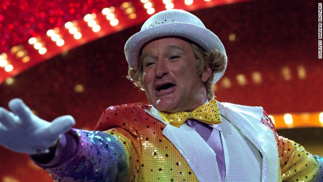 "Williams plays Rainbow Randolph in the 2002 black comedy ""Death to Smoochy."""