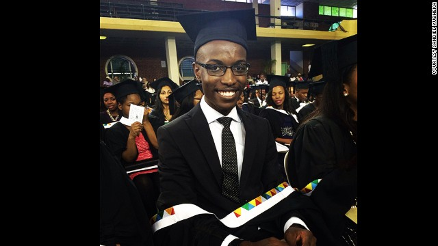 <strong>Sandile Kubheka</strong> started studying medicine at 16, and was only 20 when he became South Africa's youngest medical doctor. <!-- --> </br>
