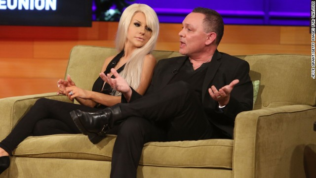 "Courtney Stodden's romance with former ""Lost"" actor Doug Hutchison is back on. <a href='http://marquee.blogs.cnn.com/2011/06/21/lost-actor-marries-16-year-old-girlfriend/' target='_blank'>Stodden is best known for marrying Hutchison </a>when she was 16 and he was 51, but their marriage lasted two years.<a href='http://marquee.blogs.cnn.com/2013/11/06/doug-hutchison-courtney-stodden-separate/' target='_blank'> In November, the controversial couple decided to separate, </a>although at the time they continued to share a home. Maybe close quarters is what led to the rekindled affair; <a href='https://twitter.com/CourtneyStodden/status/498905914083004416' target='_blank'>Stodden and Hutchison are now re-engaged</a>."
