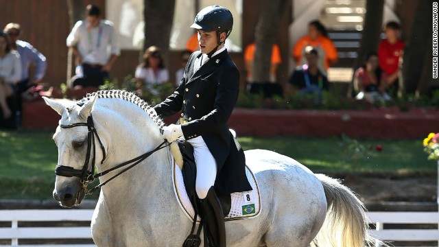 Dressage has been neglected in Brazil -- showjumping is the nation's equestrian sport of choice -- but Oliva is among a select group of Brazilian riders hoping to do the host nation justice at the Rio Games in 2016.
