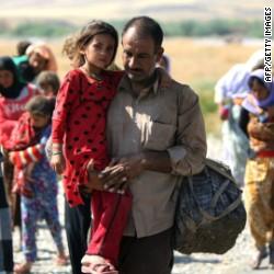 The Daily Prophet 140812165435-yazidi-refugees-flee-t1-main