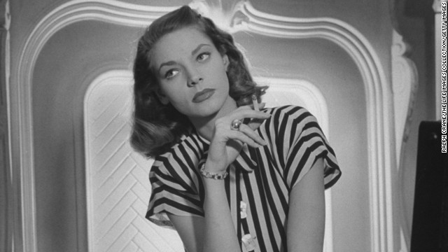 Actress <a href='http://ift.tt/ViDbct'>Lauren Bacall</a>, the husky-voiced Hollywood icon known for her sultry sensuality, died on August 12. She was 89.