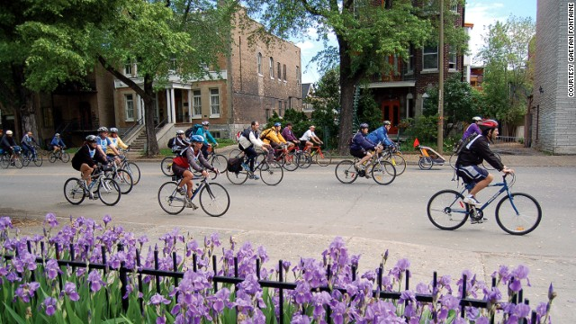 Montreal has almost 400 miles of bike paths, most used for leisure rides rather than commutes. Each May, the city hosts <a href='http://www.veloquebec.info/en/govelo/Go-bike-Montreal-festival' target='_blank'>Go Bike Montreal Festival</a>, a week of activities dedicated to cyclists and urban living.