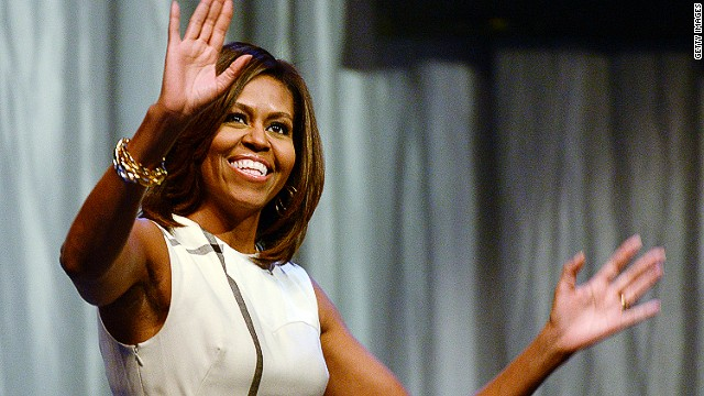 Michelle Obama found a clever way to respond to a funny question.