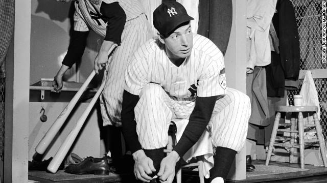 Joe DiMaggio, 84 (died March 8, 1999)