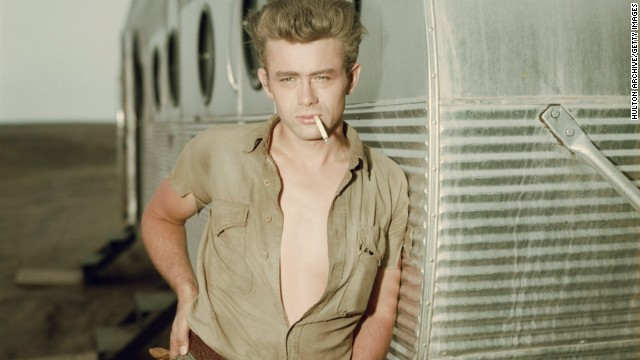 James Dean, 24 (died September 30, 1955)
