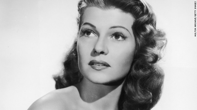 Rita Hayworth, 68 (died May 14, 1987)