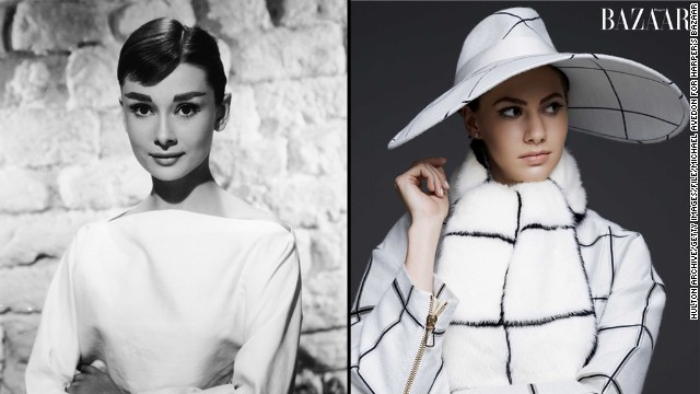 The granddaughter of style icon Audrey Hepburn, Emma Ferrer is making a stylish entrance of her own. In the September issue of Harper's Bazaar, the 20-year-old aspiring artist is photographed by the 23-year-old grandson of photographer Richard Avedon. It's clear that Emma has inherited Hepburn's star gene, like some of these famous celebrity kids: