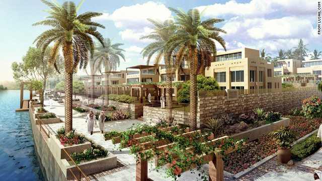 Between stand-alone homes and luxury condos, Lusail will contain housing for some 250,000 people.