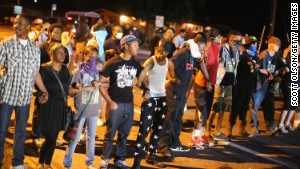 Photos: Protests in Ferguson