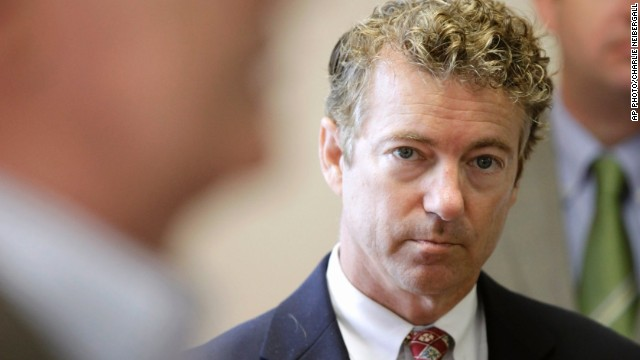 Democrats attack Rand Paul for criticizing Obama abroad