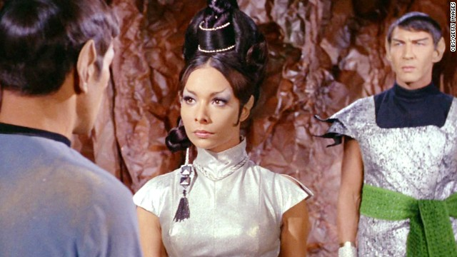 "Actress <a href='http://www.cnn.com/2014/08/14/showbiz/obit-star-trek-arlene-martel/index.html' target='_blank'>Arlene Martel</a>, whom ""Star Trek"" fans knew as Spock's bride-to-be, died in a Los Angeles hospital Tuesday, August 12, of complications from a heart attack, her son said. Martel was 78."