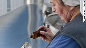 Sister Doris (pictured) is one of only a handful of women working in the beer industry in Bavaria.