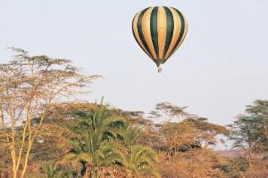Safari en globo por el Serengueti (Tanzania)
