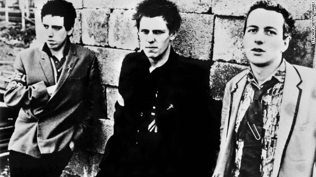 It was announced in August that a car belonging to Joe Strummer of The Clash, right, with band members Mick Jones, left, and Paul Simonon in 1978, would be auctioned. The 1963 Chalfont Blue Ford Thunderbird was reportedly driven by him while he was recording his debut album. The Clash played a major role in the history of punk music: