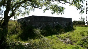 Willie Ryan lived in this simple hut in County Clare until November 8, 1967.