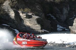 Recorrido en lancha de propulsión a chorro (Nueva Zelanda)