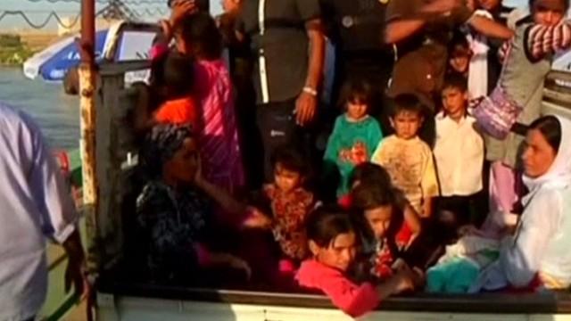 Estados Unidos inicia ataques aéreos para tomar la presa de Mosul