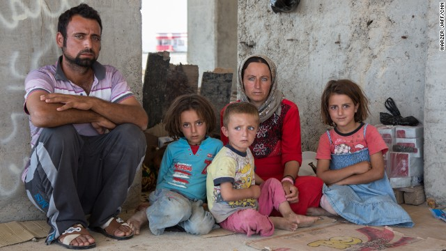 Yazidi refugees braced for life in exile